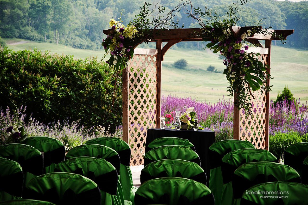 terrace green arch