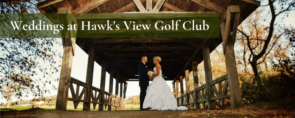 Weddings at Hawk's View Golf Club